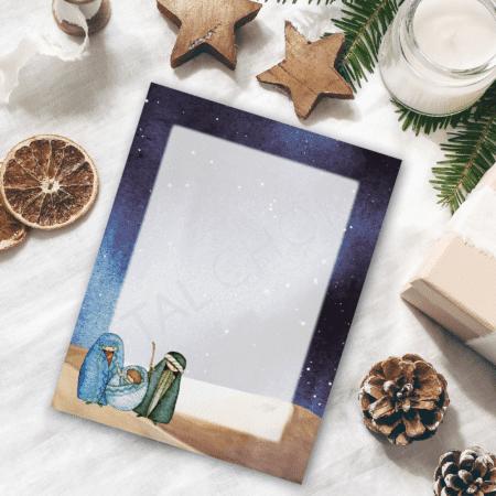 3 Wisemen Christmas Letterhead