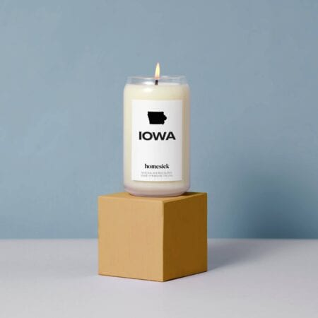 Homesick Iowa Candle