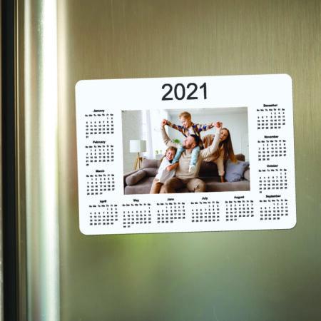 Photo Calendar Magnet