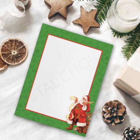 Classic Santa Christmas Letterhead