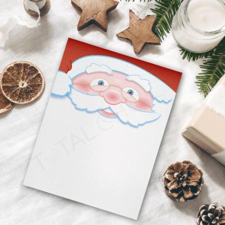 Dear Santa Christmas Letterhead