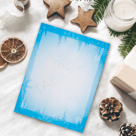 Frost and Wind Holiday Letterhead