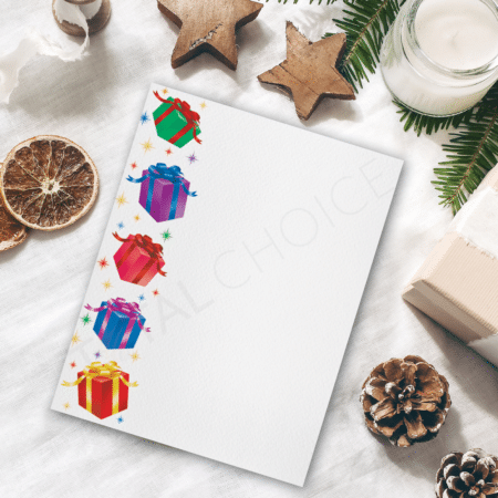 Gifts Galore Holiday Letterhead