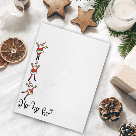 Ho Ho Ho Christmas Letterhead