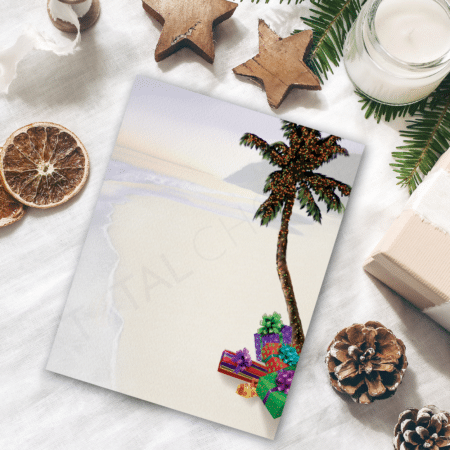 Holiday in Paradise Holiday Letterhead