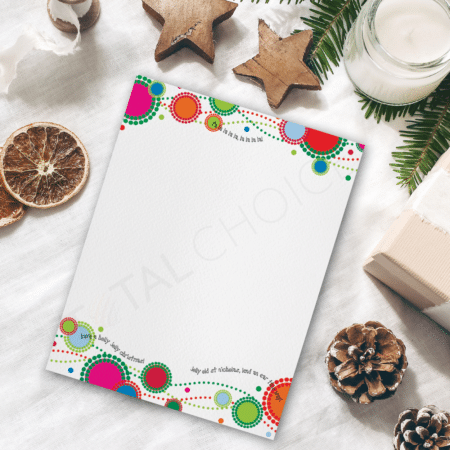 Jolly Dots Holiday Letterhead