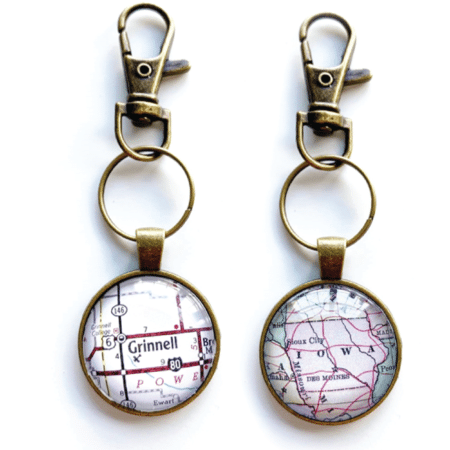 Map Keychains