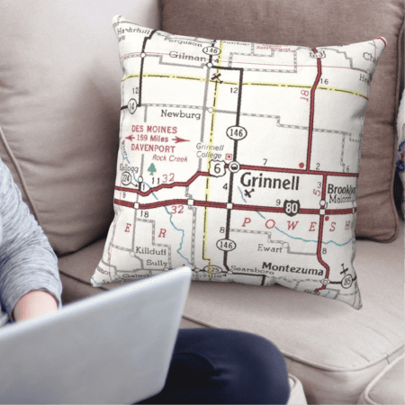 Map Pillowcases