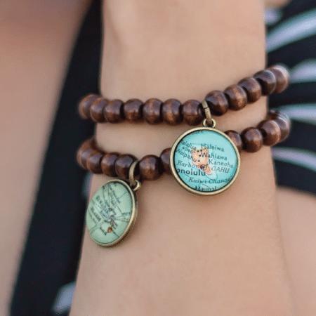 Map Bracelets