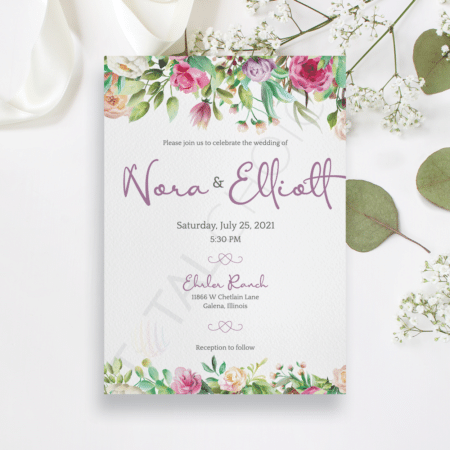 Peony Bliss Invitation