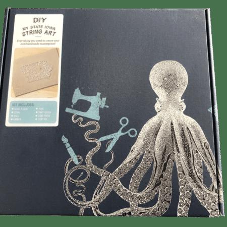 State of Iowa DIY String Art Kit