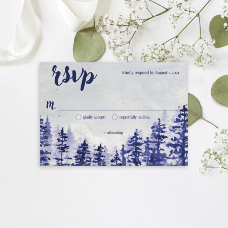 Majestic Mountain RSVP