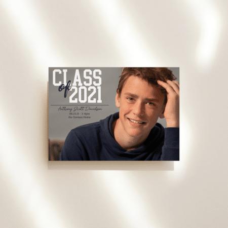 College Block Graduation Announcement