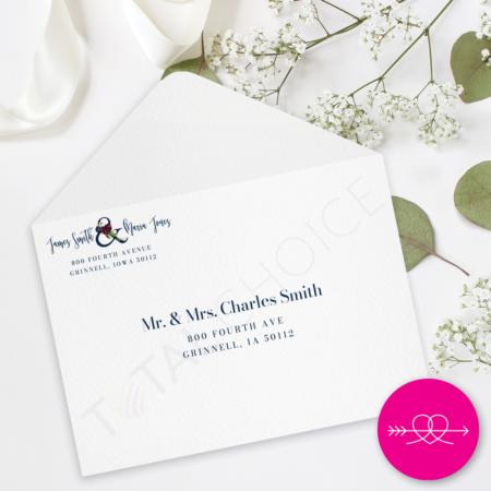 Winter Romance A7 Envelopes