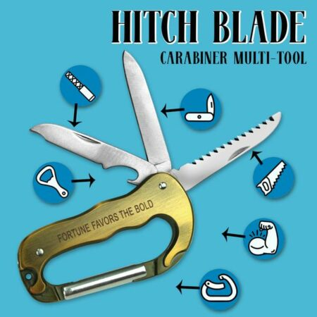 Hitch Blade - Carabiner Multi-Tool